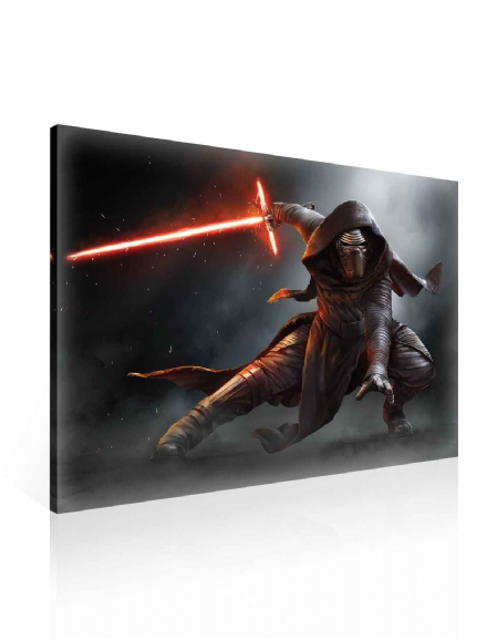 XXL Star Wars Force Awakens Kylo Ren Canvas 100x75cm